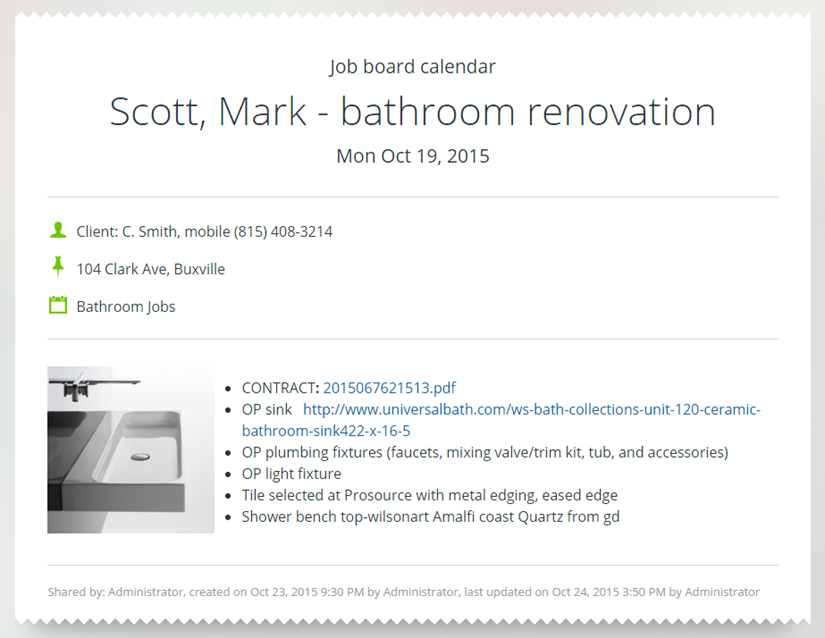 job-board-sink