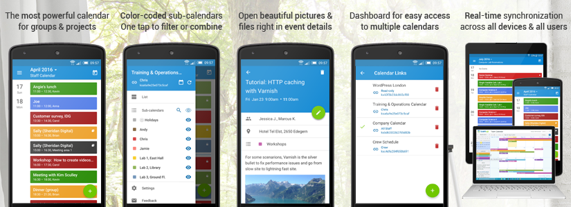 Teamup releases android app