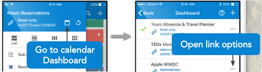 Open Calendar in Browser from Mobile App - Teamup News, Tips, Stories