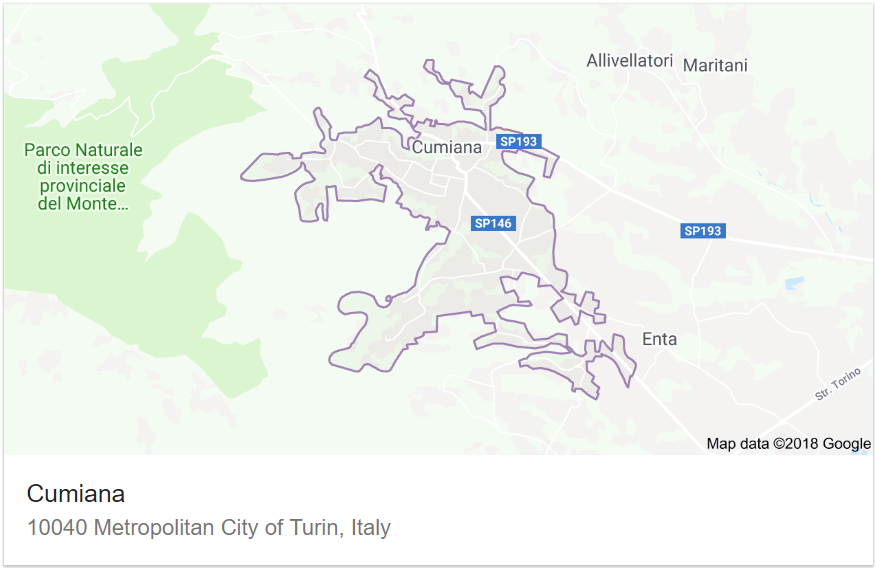 Municipality of Cumiana, Italy