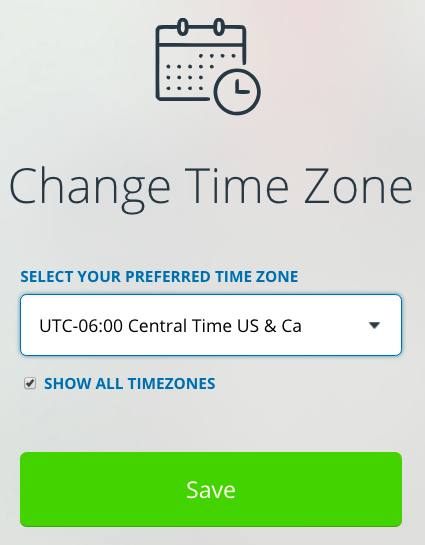 View an event in multiple time zones with Teamup