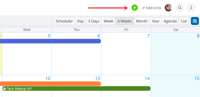 Add an existing calendar to your Teamup calendar dashboard
