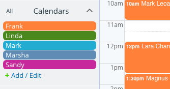 Organize your team with a powerful, customizable Teamup calendar