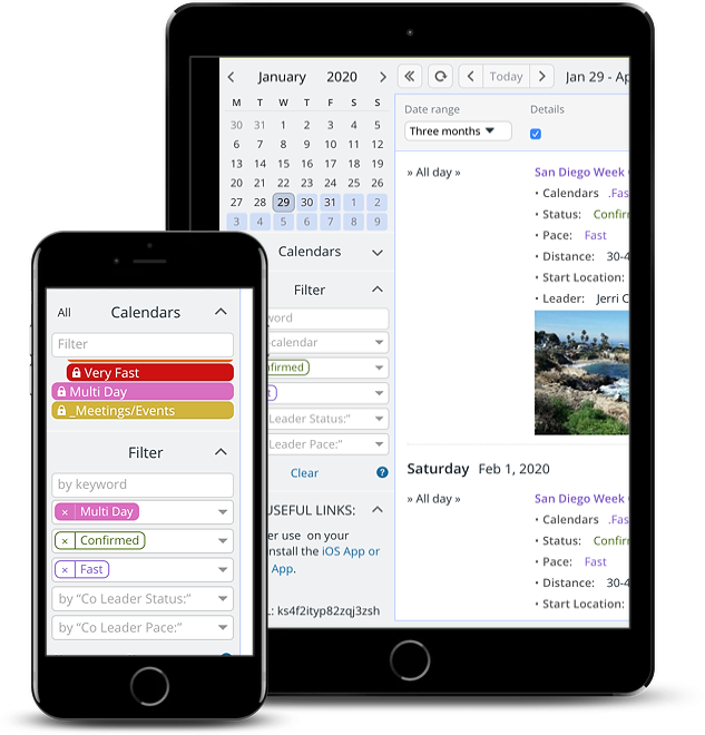 Filter your calendar by the contents of custom event field
