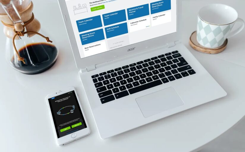 Access your Teamup calendar on a browser or on a mobile device