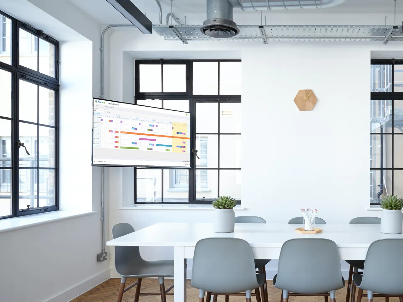 Create a large calendar display for your office