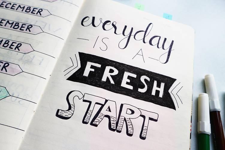 Success tips fresh start